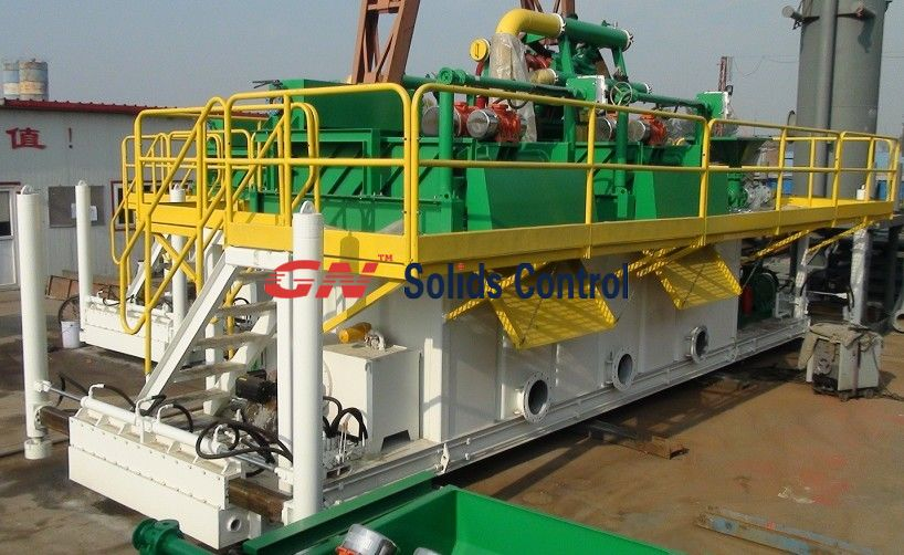 gn500 gpm mud recycling system